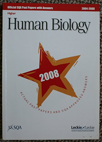 9781843723455: Human Biology Higher SQA Past Papers