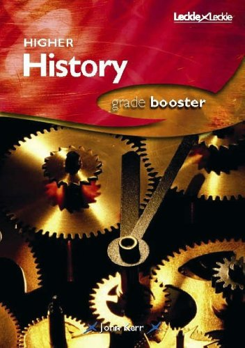9781843723769: HIGHER HISTORY GRADE BOOSTER
