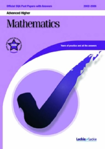 9781843724544: Maths Advanced Higher SQA Past Papers (Official Sqa Past Paper)