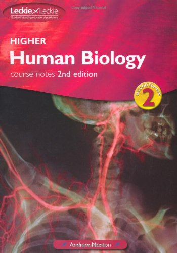 9781843724896: Higher Human Biology: Course notes (Leckie)