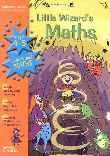 9781843727170: Magical Topics – LITTLE WIZARD MATHS 4 5: Age 4-5 (Letts Magical Topics)