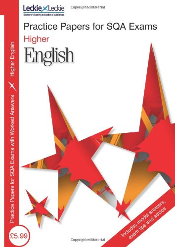 9781843727811: PRACTICE PAPER H ENGLISH (Sqa Practice Papers)