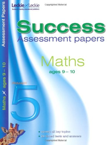 9781843727910: 9-10 Mathematics Assessment Success Papers