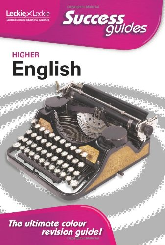 9781843728023: Higher English (Success Guide)