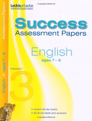 Assessment Papers - English Assessment Papers 7-8: Various Authors