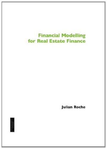 9781843748779: Financial Modelling for Real Estate Finance