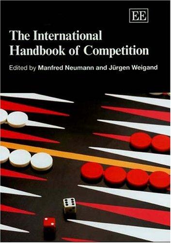 9781843760542: The International Handbook Of Competition