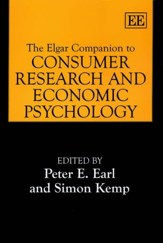 9781843760603: The Elgar Companion to Consumer Research and Economic Psychology (Elgar Original Reference
