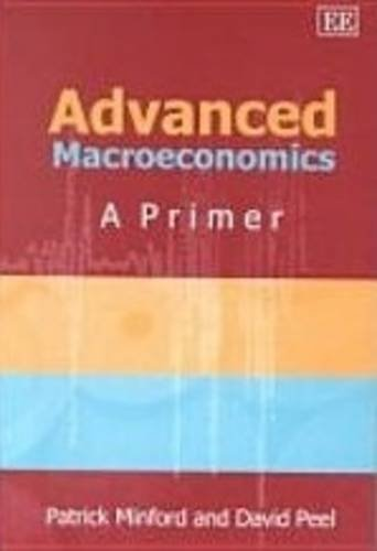 9781843760900: Advanced Macroeconomics
