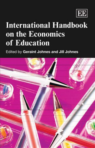 International Handbook on the Economics of Education: Johnes, Geraint (EDT)/ Johnes, Jill (EDT)