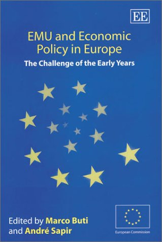 9781843761525: EMU and Economic Policy in Europe: The Challenge of the Early Years (In Association with the European Community)