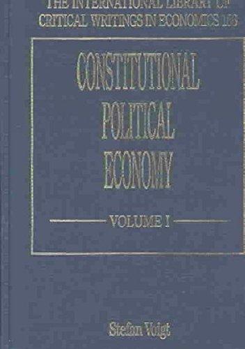 Constitutional Political Economy: Voigt, Stefan