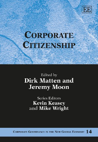 Corporate Citizenship (Hardback)