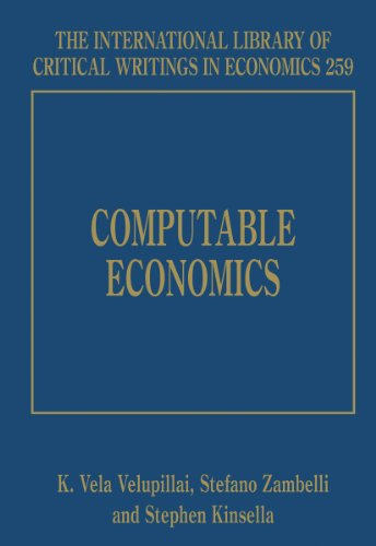 9781843762393: Computable Economics (The International Library of Critical Writings in Economics Series)