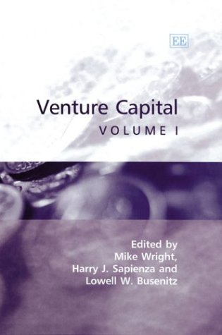 9781843762478: Venture Capital (3 Volume Set)