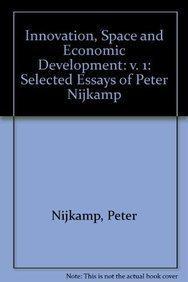 9781843762690: Innovation, Space and Economic Development: Selected Essays of Peter Nijkamp
