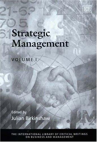 Strategic Management (Hardback)