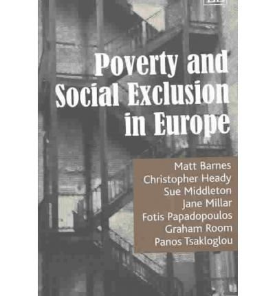 9781843763406: Poverty and Social Exclusion in Europe