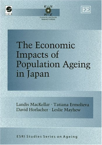 9781843763604: The Economic Impacts Of Population Ageing In Japan (Esri Studies Series on Ageing)