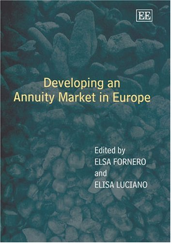 Developing An Annuity Market In Europe
