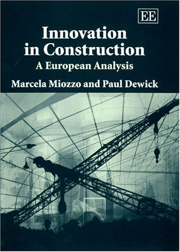 9781843765219: Innovation in Construction: A European Analysis