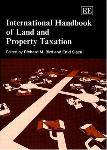 9781843766476: International Handbook Of Land And Property Taxation (Elgar original reference)
