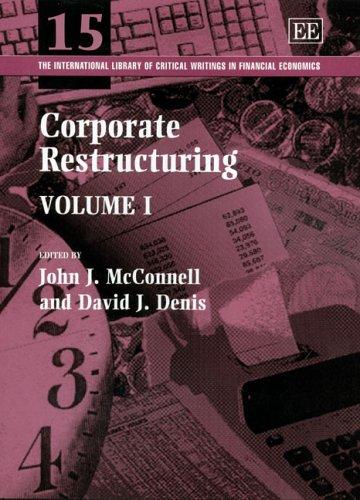 Corporate Restructuring (Hardback)