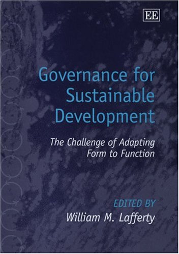 9781843767695: Governance for Sustainable Development: The Challenge of Adapting Form to Function