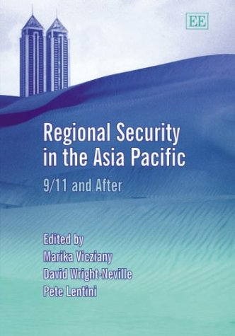 9781843768258: Regional Security in the Asia Pacific: 9/11 And After