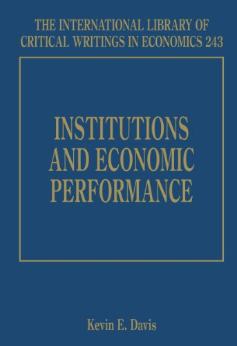Institutions and Economic Performance: Kevin E. Davis
