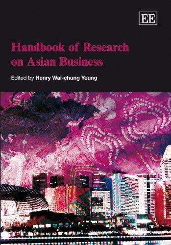 9781843769606: Handbook of Research on Asian Business (Elgar Original Reference)