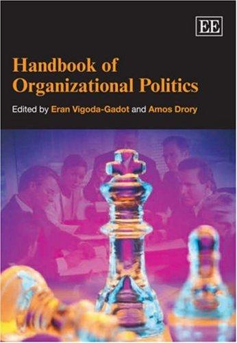 9781843769958: Handbook of Organizational Politics: Organizational Politics (Research Handbooks in Business and Management Series)
