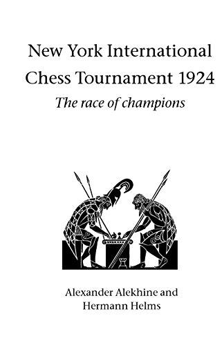 9781843821250: New York International Chess Tournament 1924