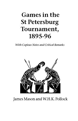9781843821403: Games in the St. Petersburg Tournament, 1895-96