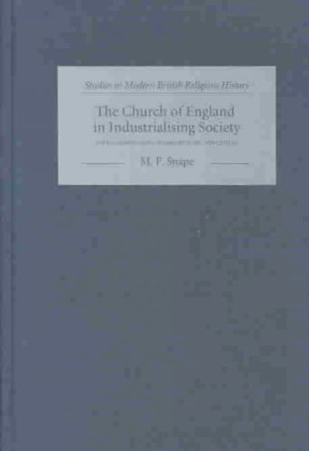 9781843830146: The Church of England in Industrialising Society: The Lancashire Parish of Whalley in the Eighteenth Century (9) (Studies in Modern British Religious History)