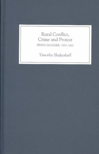 Rural Conflict, Crime and Protest: Timothy Shakesheff