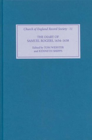 9781843830436: The Diary of Samuel Rogers, 1634-1638 (Church of England Record Society)