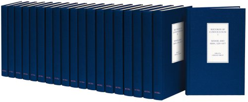 Records of Convocation (Church of England Record Society) 20 vols (set including index): BRAY, ...