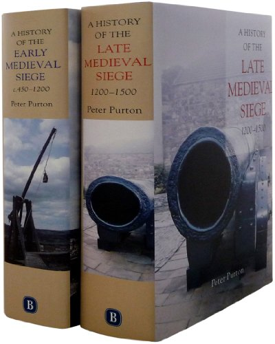 9781843834502: A History of the Early and Late Medieval Siege: Two Volume Set