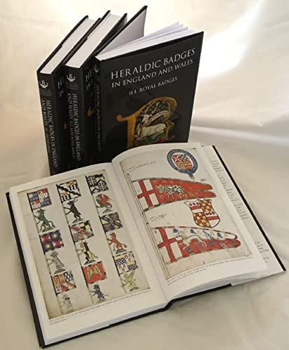 9781843834939: Heraldic Badges in England and Wales (4 volume set)