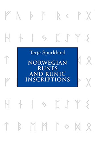 Norwegian Runes and Runic Inscriptions (0) (Publctn/Lincoln Record Society) (Paperback)