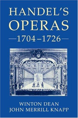 9781843835257: Handel's Operas, 1704-1726