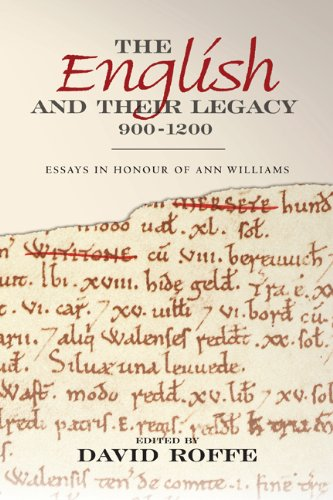 9781843837947: The English and their Legacy, 900-1200: Essays in Honour of Ann Williams (0)
