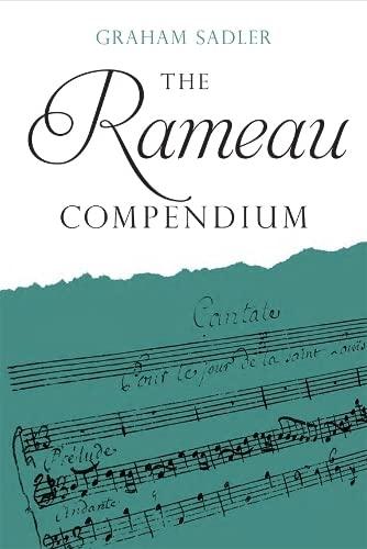 The Rameau Compendium: Graham Sadler
