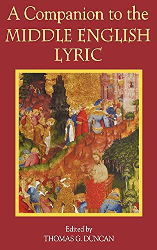 9781843840657: A Companion to the Middle English Lyric