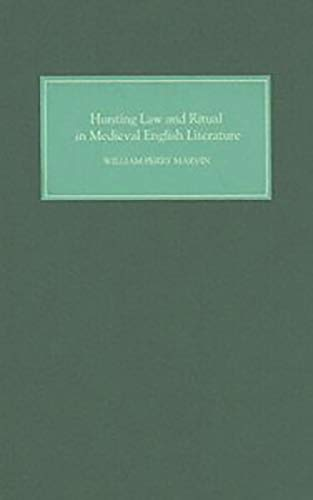 9781843840824: Hunting Law and Ritual in Medieval English Literature