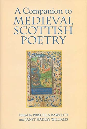 9781843840961: A Companion to Medieval Scottish Poetry
