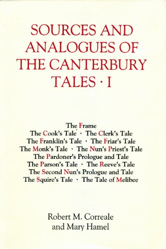 9781843841913: Sources and Analogues of the Canterbury Tales [pb set] (0) (Chaucer Studies)