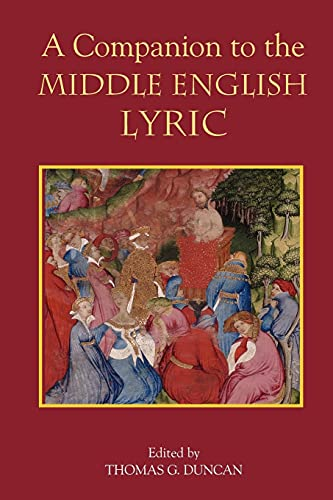 9781843842132: A Companion to the Middle English Lyric