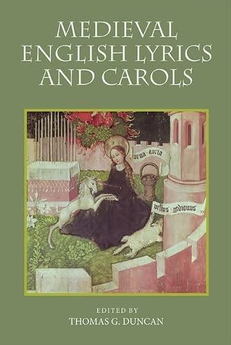 9781843843412: Medieval English Lyrics and Carols (0)